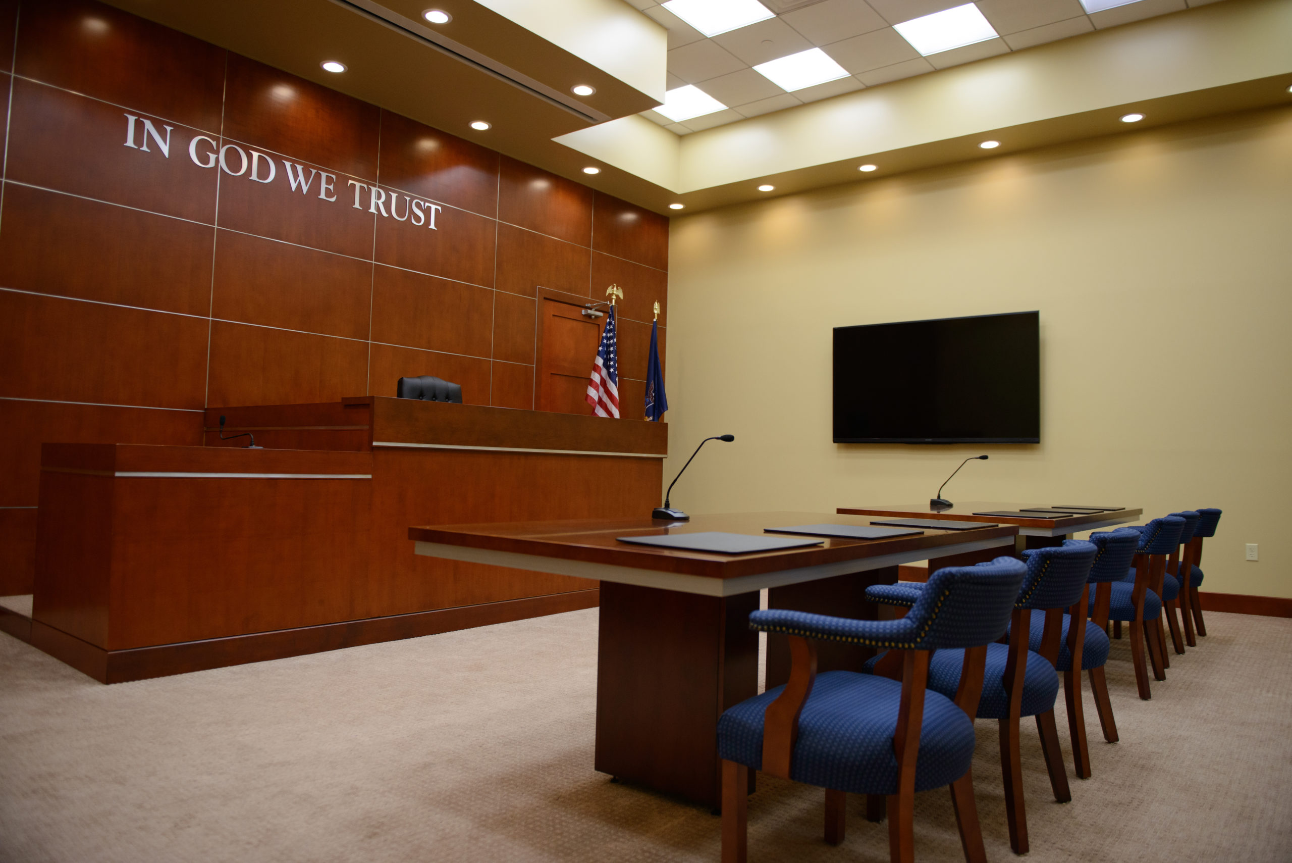 New York Courtroom