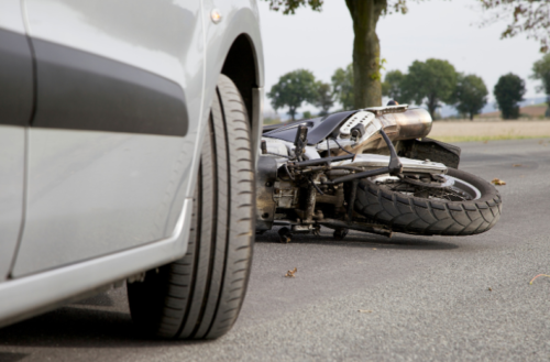 Motorcycle Accident with Vehicle